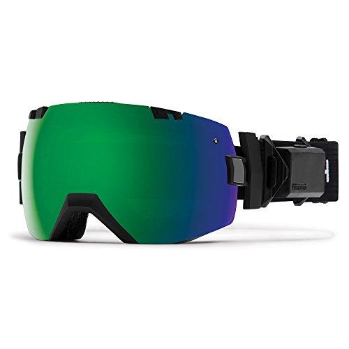 Smith m006589al99mk Skibrille Herren, Schwarz -