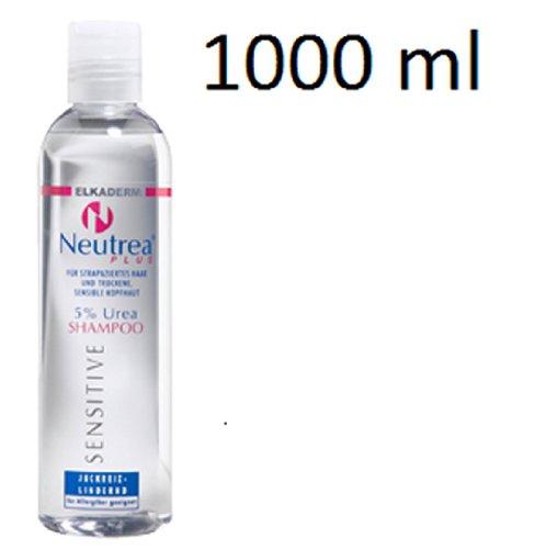 Elkaderm Neutrea Plus 5 prozent Urea Shampoo, 1000 ml