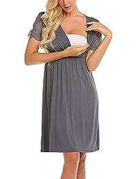 c63ca535c Vestidos Premama Verano SHOBDW Moda 2019 Vestido de Maternidad de Fiesta  Fotografia Encaje Ropa Premamá Cómoda