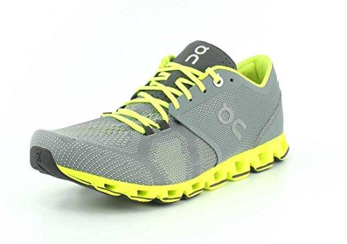 On Running Cloud X Grey Neon Gris