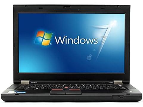 Lenovo ThinkPad T430 - Windows 7 - Webcam - i5 4GB 320GB - 14.1'' - Webcam - Ordinateur Portable PC