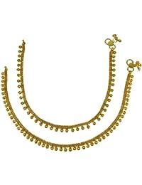 Banithani Ethnic Traditional Indian Women Wedding Traditional Anklet Bracelet Jewellery t01it0