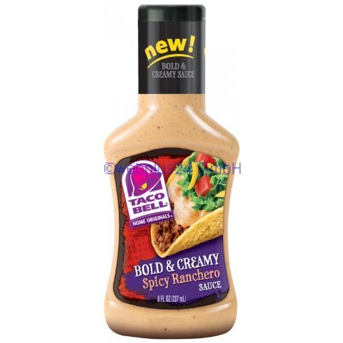 taco-bell-bold-creamy-spicy-ranchero-sauce-8-oz-bottle-by-yulo-toys-inc