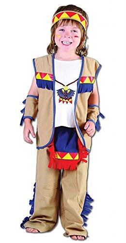 Little Indian Kleinkind Kostüm - Islander Fashions Kleinkind Little Indian Chief