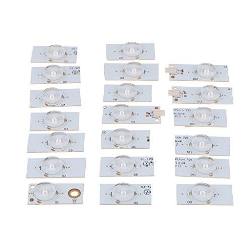 KESOTO 20 Stück SMD Lampe Perlen 6 V Weiß für Deko Party Küche Weihnachten Innenbeleuchtung