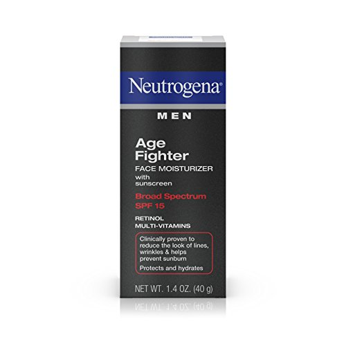 Neutrogena Men Age Fighter Face Moisturizer, 1.4 Ounce