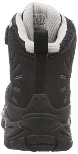Salomon Deemax 3 Ts Wp, Scarpe da escursionismo Uomo Nero (Schwarz (Black/Black/Aluminium))