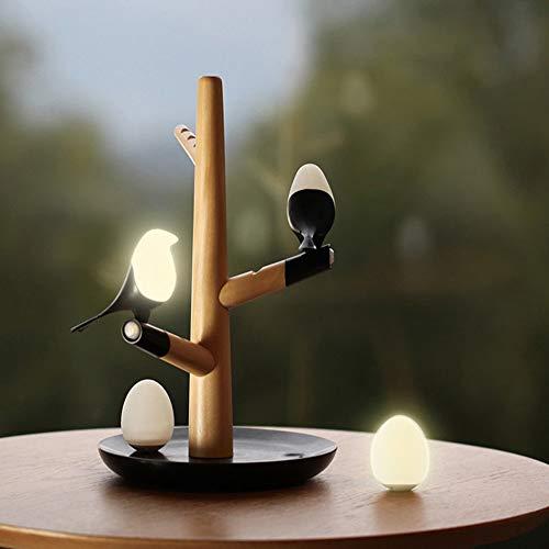 Lámpara de Mesa de inducción, HI-Top Smart Noche hogar luz USB Carga...