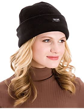 Ladies Black Polar Fleece Thinsulate Hat One Size GL138