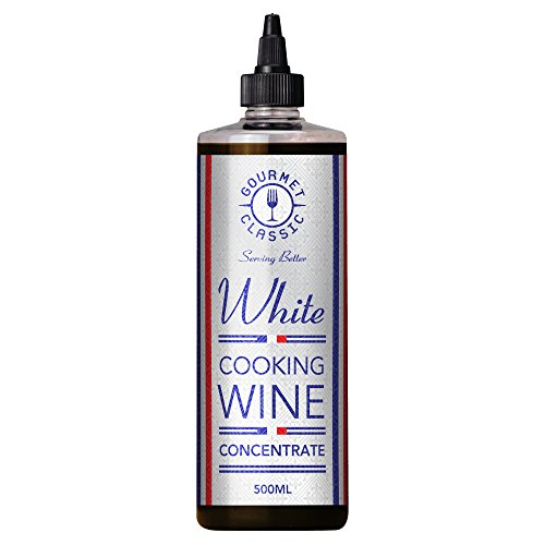 Gourmet Classic White Cooking Wine Concentrate 500ml (Pack of 6) Test