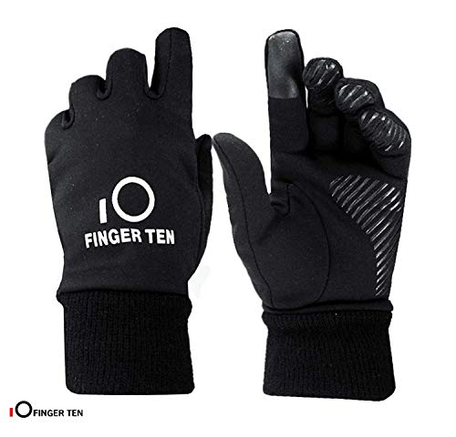 Finger ten guanti invernali bambini (2-15 anni) uomo donna touchscreen ciclismo jogging calcio alpinismo equitazione outdoor sport stai al caldo vento per ragazze ragazzi unisex