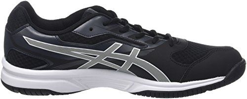 Asics Herren Upcourt 2 Hallenschuhe Schwarz (Black/White/Dark Grey 9001)