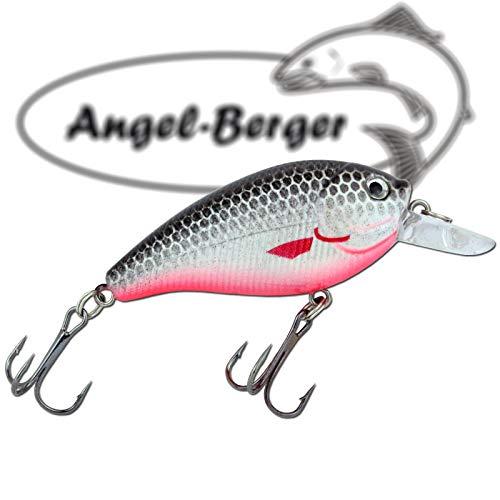 Angel-Berger Popper Oberfl/ächenk/öder 3D Wobbler