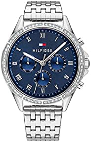 Tommy Hilfiger Women'S Blue Dial Stainless Steel Watch - 178