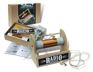 CRYSTAL RADIO RECEIVER KIT UNIQUE UNUSUAL GIFT IDEA