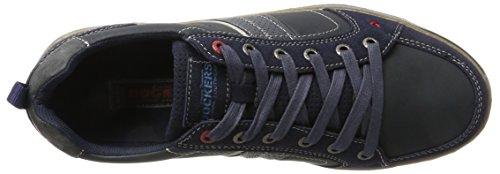 Dockers by Gerli Herren 41tt004-610662 Sneaker Blau (Navy/Grau)