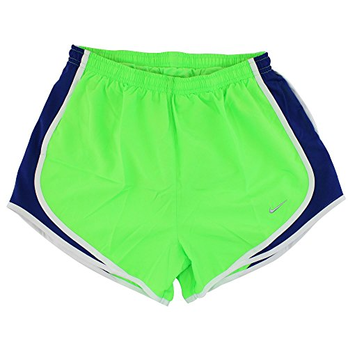 Nike Tempo Short pour femmes Vert/bleu marine