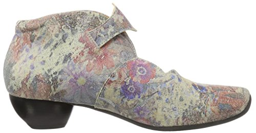 Think! Aida 080258, Scarpe con Cinturino alla Caviglia Donna Multicolore (Taupe/Kombi 27)