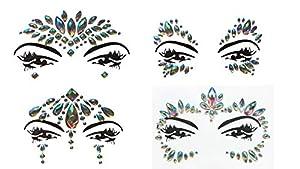 Cara y cuerpo joyas de