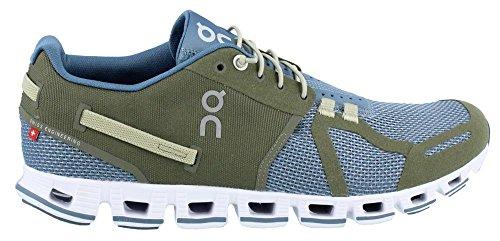 On Running , Chaussures de course pour homme Vert vert Vert