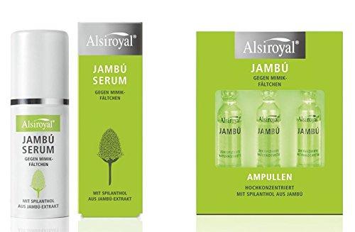 Alsiroyal Jambú Serum 30ml + Ampullen 3 Stück 9ml Kombi