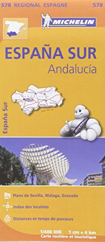 Carte Espagne Andalousie Michelin par Collectif MICHELIN