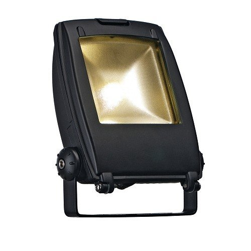 SLV Led Flood Light, 10 W, 120 ° Blanc chaud/noir mat 231152