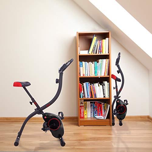 Ergometer Heimtrainer X-Bike: Klappbar & günstig Bild 2*