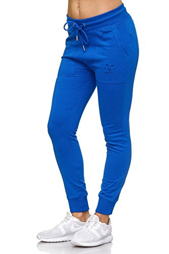 BELLIS® Damen Hose Jogginghose Sporthose Freizeithose /XS-XXL/ G-699006 Lapis-Blue