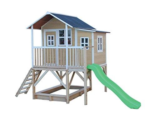 EXIT toys.com EXIT Loft 550 Holzspielhaus - naturel
