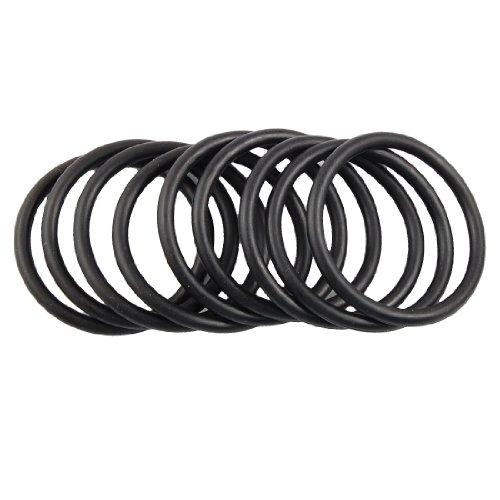 10 pezzi, 40 mm x 48 mm x 4 mm, tenuta ermetica in gomma nitrilica-Guarnizione O-Ring