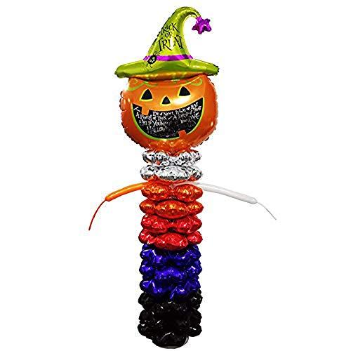 ZIHENGUO Halloween Party Dekoration Produkt Ballon Kombination, Kürbis Ballon Spalte, Geeignet Für Familie Laden Bar Design