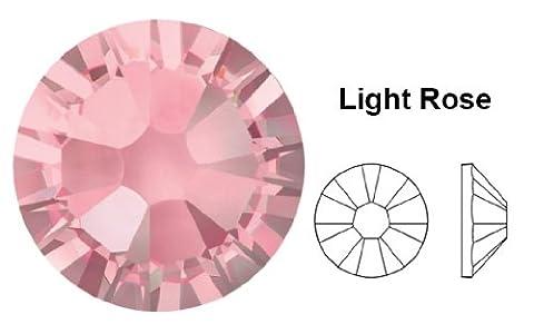 Swarovski Crystals Cristal Light Rose (223) faux diamant Nail Art- 1.8Mm (Ss5) 60 Pieces