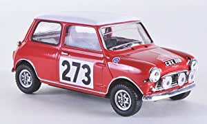 Mini Austin Cooper S, No.273, Rallye Monte-Carlo, 1965, voiture miniature, Miniature déjà montée, Vitesse 1:43