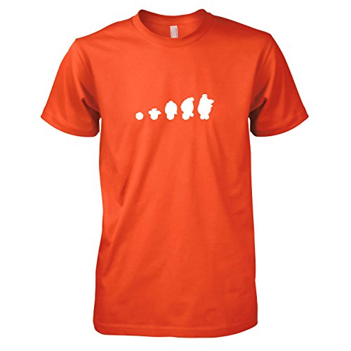 TEXLAB - Assistant Evolution - Herren T-Shirt Orange