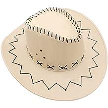 GHONLZIN Cappellino da Cowboy con Cappuccio Ampio a Tesa Larga f2cb7075056b