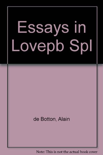 Book cover for Essays in Love