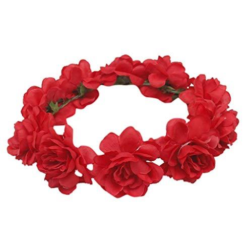 rlanden Stirnband Blumen Kronen Haar Kranz Halo ()