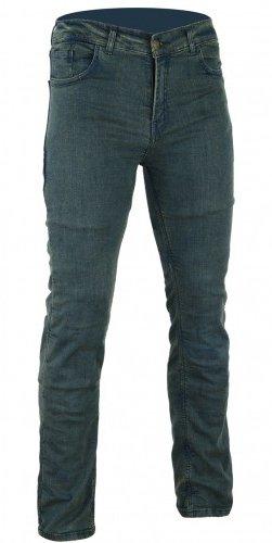 Bikers Gear Australia Limited Damen Stretch gefüttert mit Kevlar Motorrad Jeans Schutzhülle mit abnehmbarem CE Armour, Vintage Denim, Größe 8
