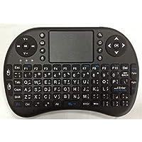 لوحة مفاتيح عربية لاسلكية صغيرة مع ماوس بتوافق مع جميع اجهزة الكمبيوتر وجوجل تي في