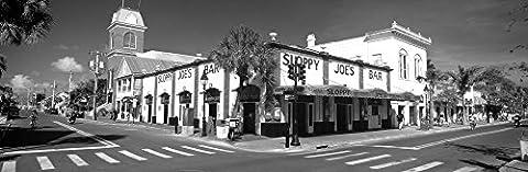 Panoramic Images – Sloppy Joe's Bar Key West FL Fine Art Print (30.48 x 91.44 cm)