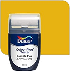 Dulux Color Play 30 ml Paint Tester (Bumble Fun, Color Code: 39YY 52_691)