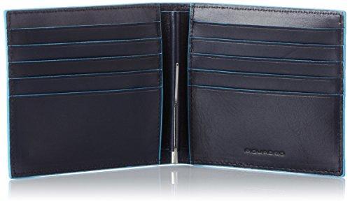 Piquadro  Münzbörsen, Schwarz Blau