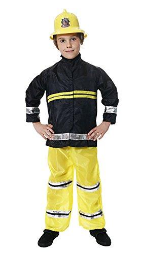ys Feuerwehrmann Kost�m Kinder Feuerwehrmann Chief Kost�m Buch Woche Outfit Feuerwehrmann Kost�m Large 10-12 Jahre (Feuerwehrmann Kostüme Boy)