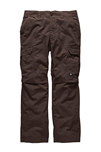 Dickies - New York, Pantaloni sportivi Uomo, Marrone (Chocolate Brown), (Taglia Produttore: 34/34)