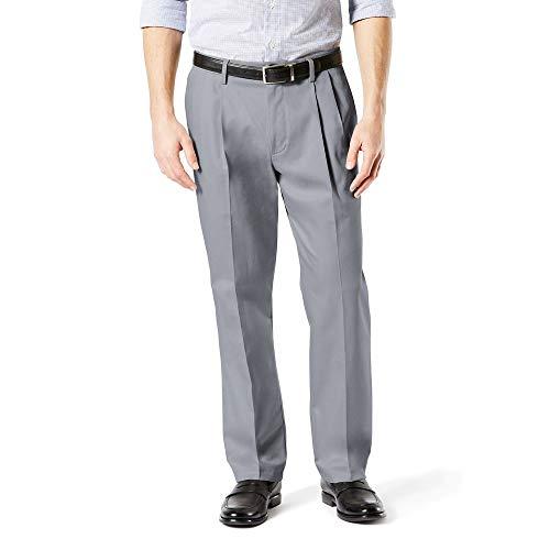 Dockers Hombre Pantalones Casuales - Gris - 50W x