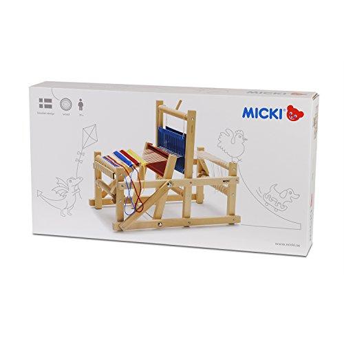 Imagen principal de Micki 10.0259.00 - Telar en madera [Importado de Alemania]