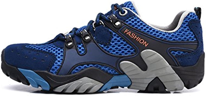 YEEOGF Zapatos Livianos Para Hombre Zapatillas Respirables Zapatillas Deportivas Malla Antideslizante Reducen