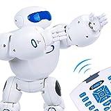 RCTecnic - Robotics Robot Teledirigido Programable para Niños Star Warrior | Saluda, Baila y es Ideal para Aprender Inglés | RC Juguete Robotica Educativa Infantil