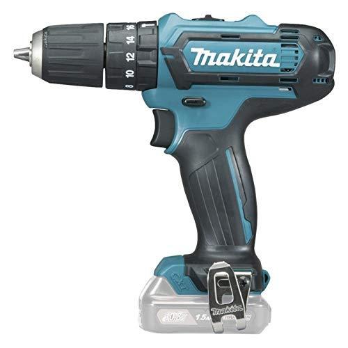 Makita HP331DZ Akku-Schlagbohrschrauber, 10.8 V, Schwarz, Blau